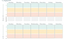 004 Impressive Monthly Meal Plan Template Google Doc Example  Docs