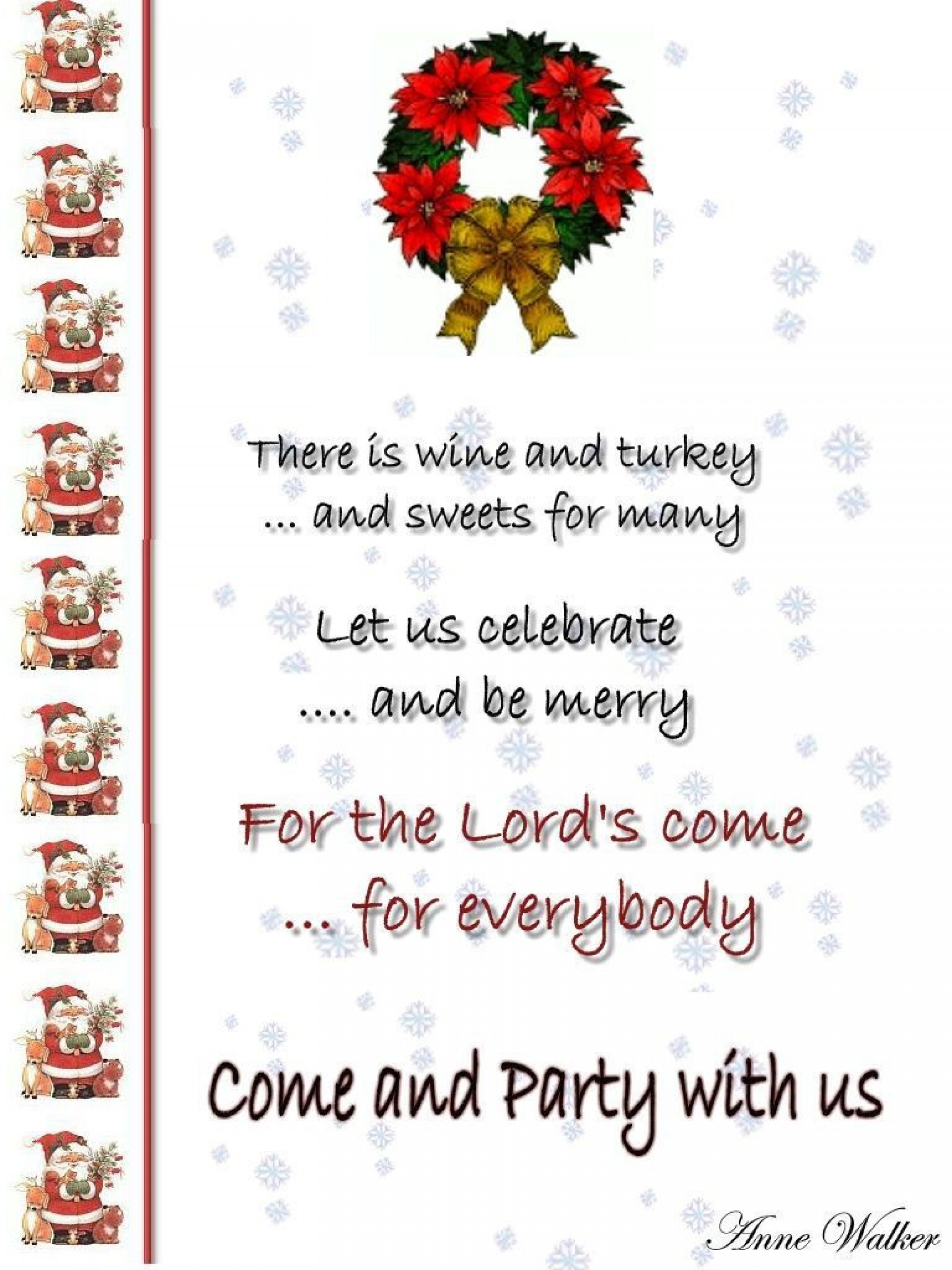 004 Impressive Office Christma Party Invitation Wording Sample Highest Clarity  Holiday Example1920