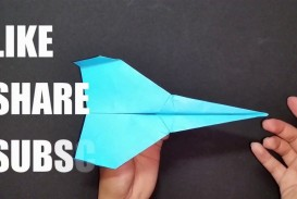 004 Impressive Printable A4 Paper Plane Design Picture
