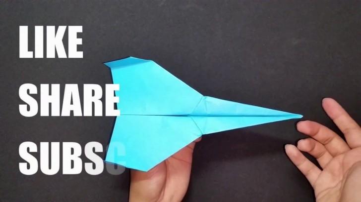 004 Impressive Printable A4 Paper Plane Design Picture 728
