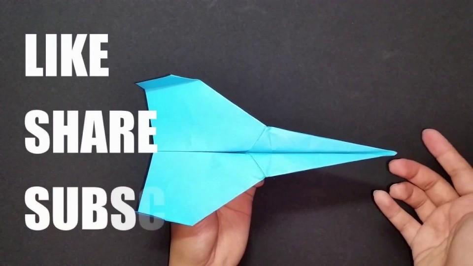 004 Impressive Printable A4 Paper Plane Design Picture 960