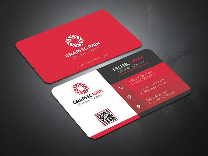 004 Impressive Psd Busines Card Template Highest Quality  Computer Free With Bleed728