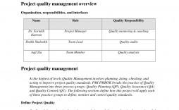 004 Impressive Quality Control Plan Template Image  Templates Hud Sample Busines Example Pdf