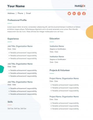 004 Impressive Resume Microsoft Word Template Inspiration  Cv/resume Design Tutorial With Federal Download320