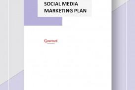 004 Impressive Social Media Marketing Plan Template Doc Highest Clarity