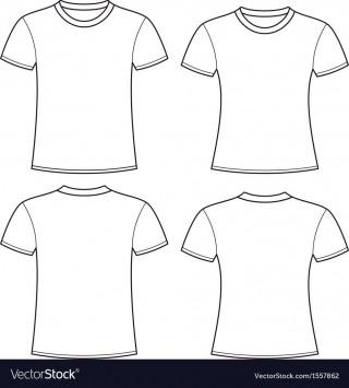 004 Impressive T Shirt Template Free High Definition  White Psd Download Design Website320