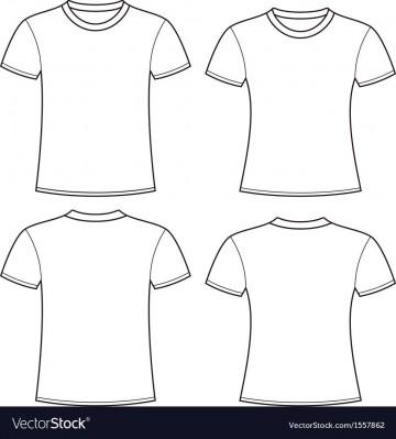 004 Impressive T Shirt Template Free High Definition  White Psd Download Design Website360