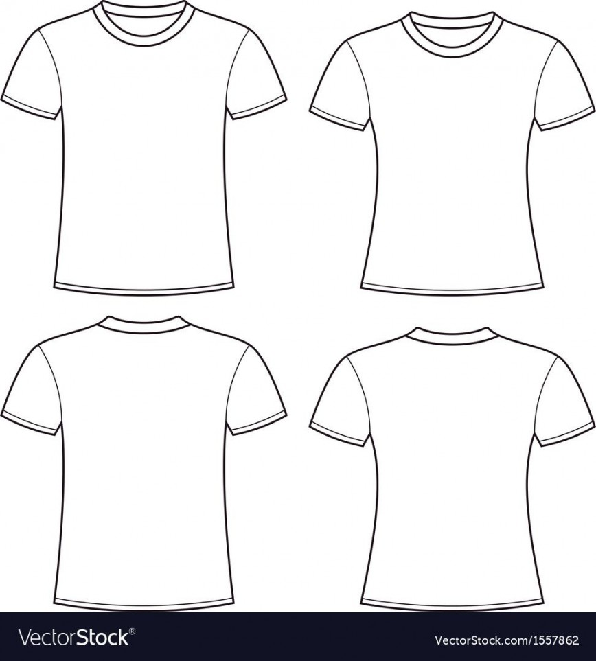 004 Impressive T Shirt Template Free High Definition  Design Download Printable Baby Collar Vector