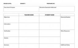 004 Impressive Template For Lesson Plan High Definition  Plans Pdf School Sample