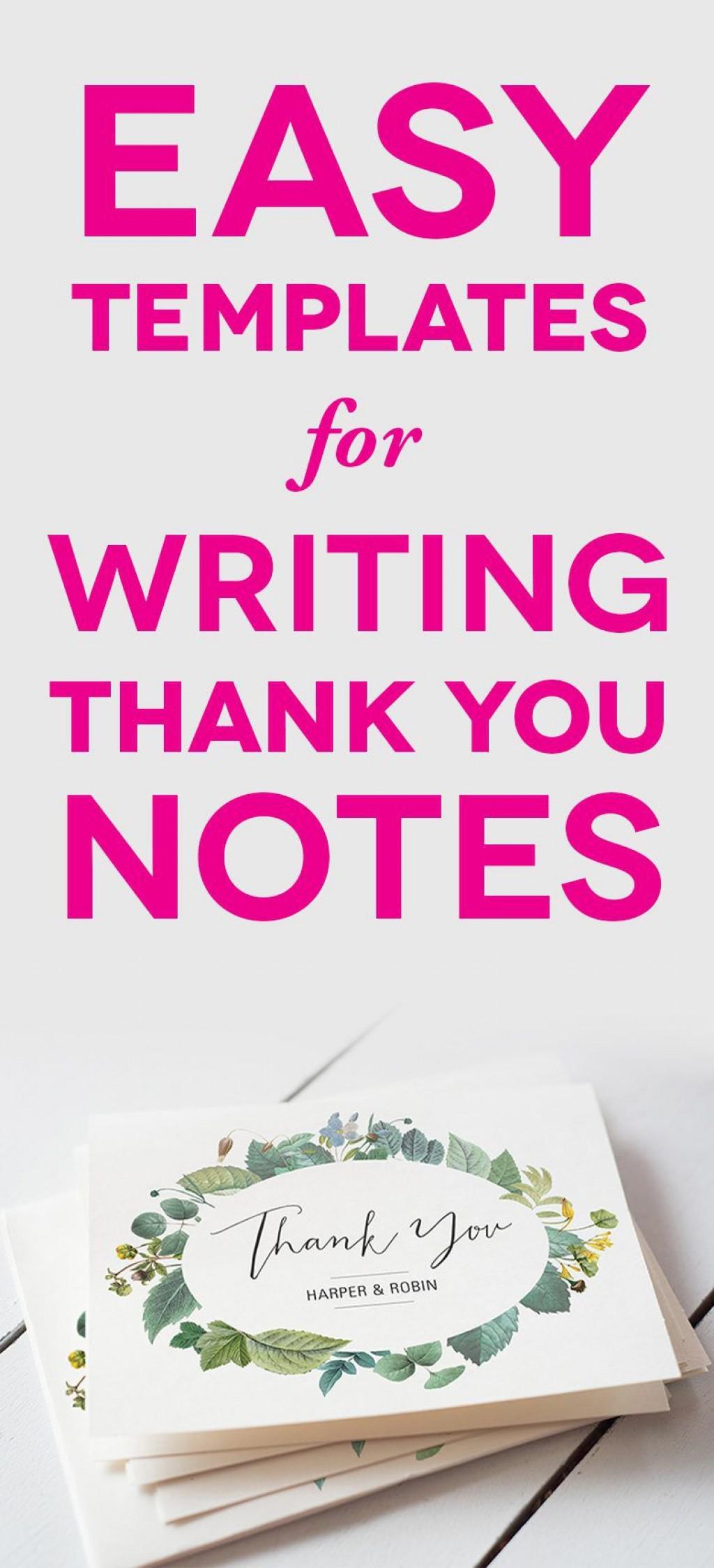 004 Impressive Thank You Note Template Wedding Image  Card Etsy WordingLarge
