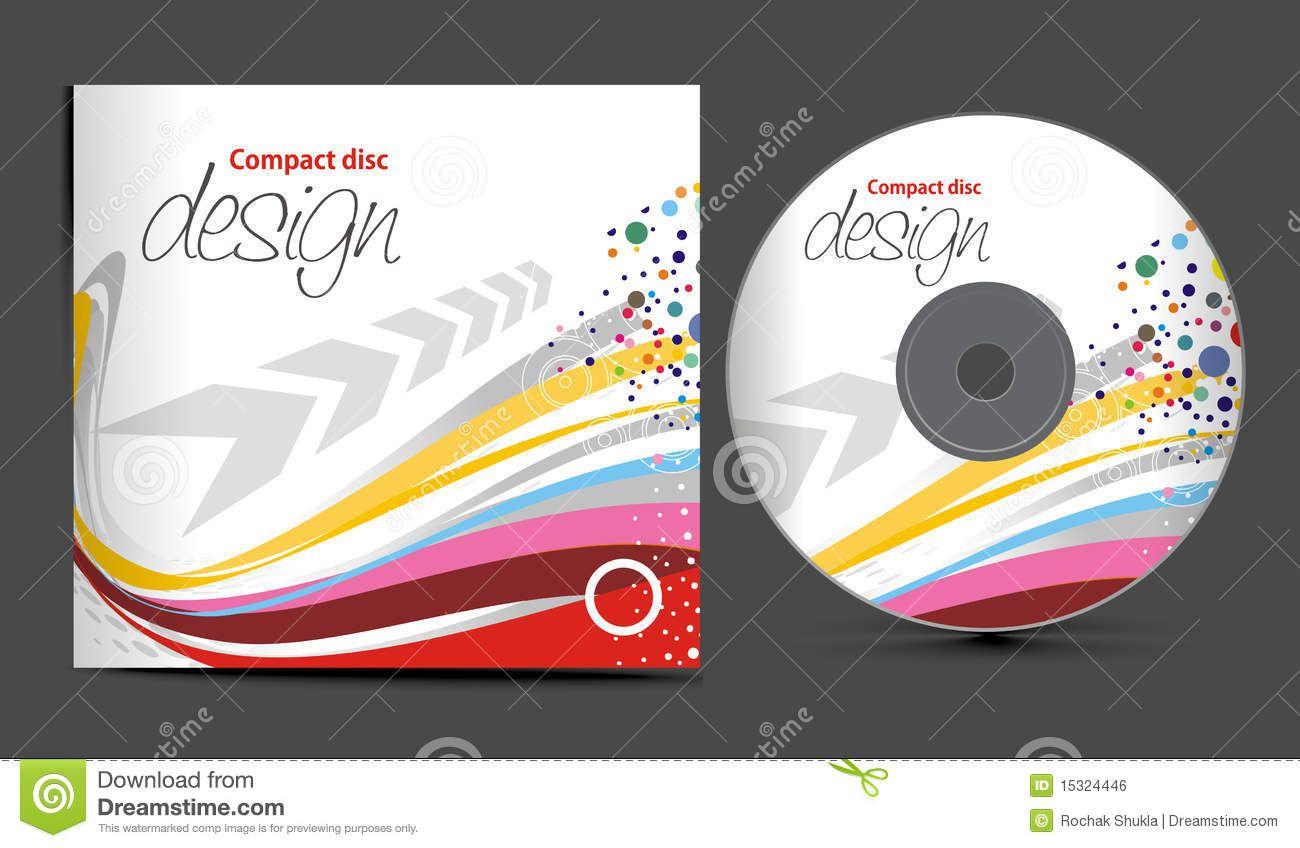 004 Impressive Vector Cd Cover Design Template Free Highest Quality Full