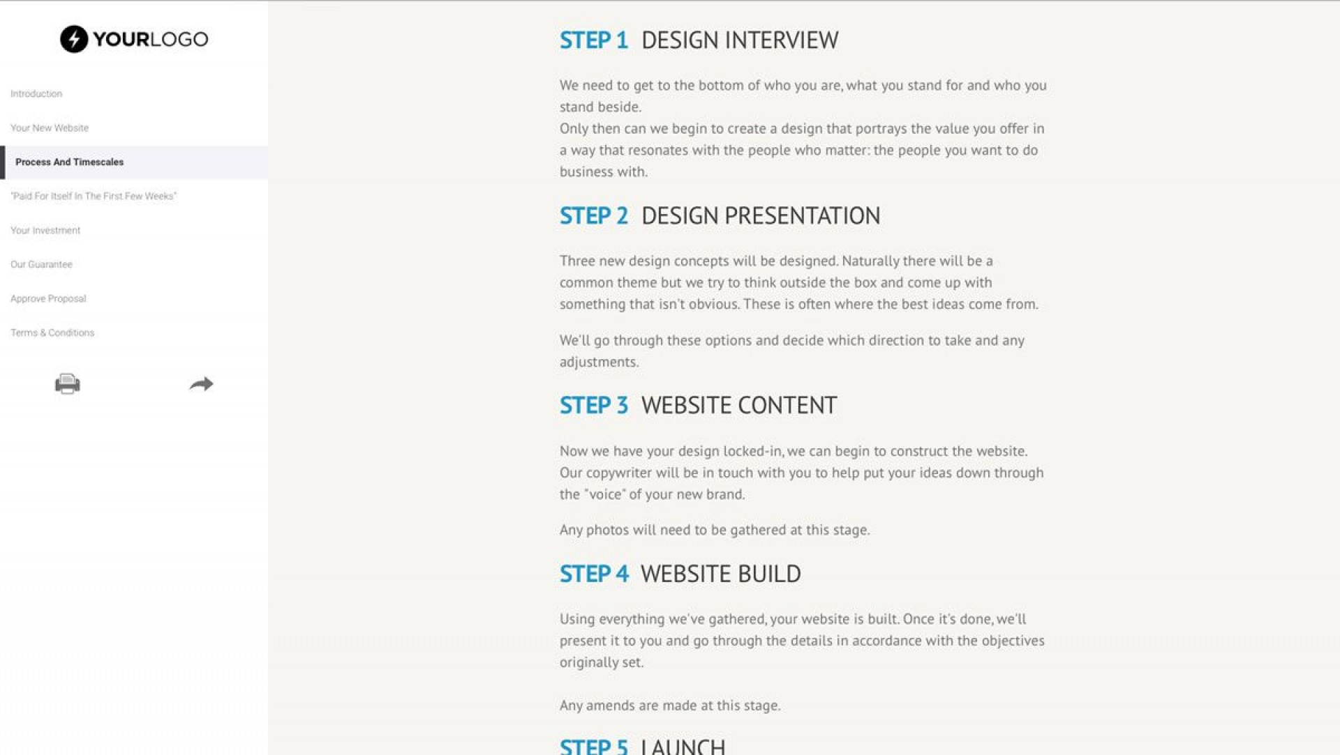 004 Impressive Website Development Proposal Format Idea  Web Template Pdf Sample Ecommerce1920