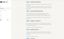 004 Impressive Website Development Proposal Format Idea  Web Template Pdf Sample Ecommerce