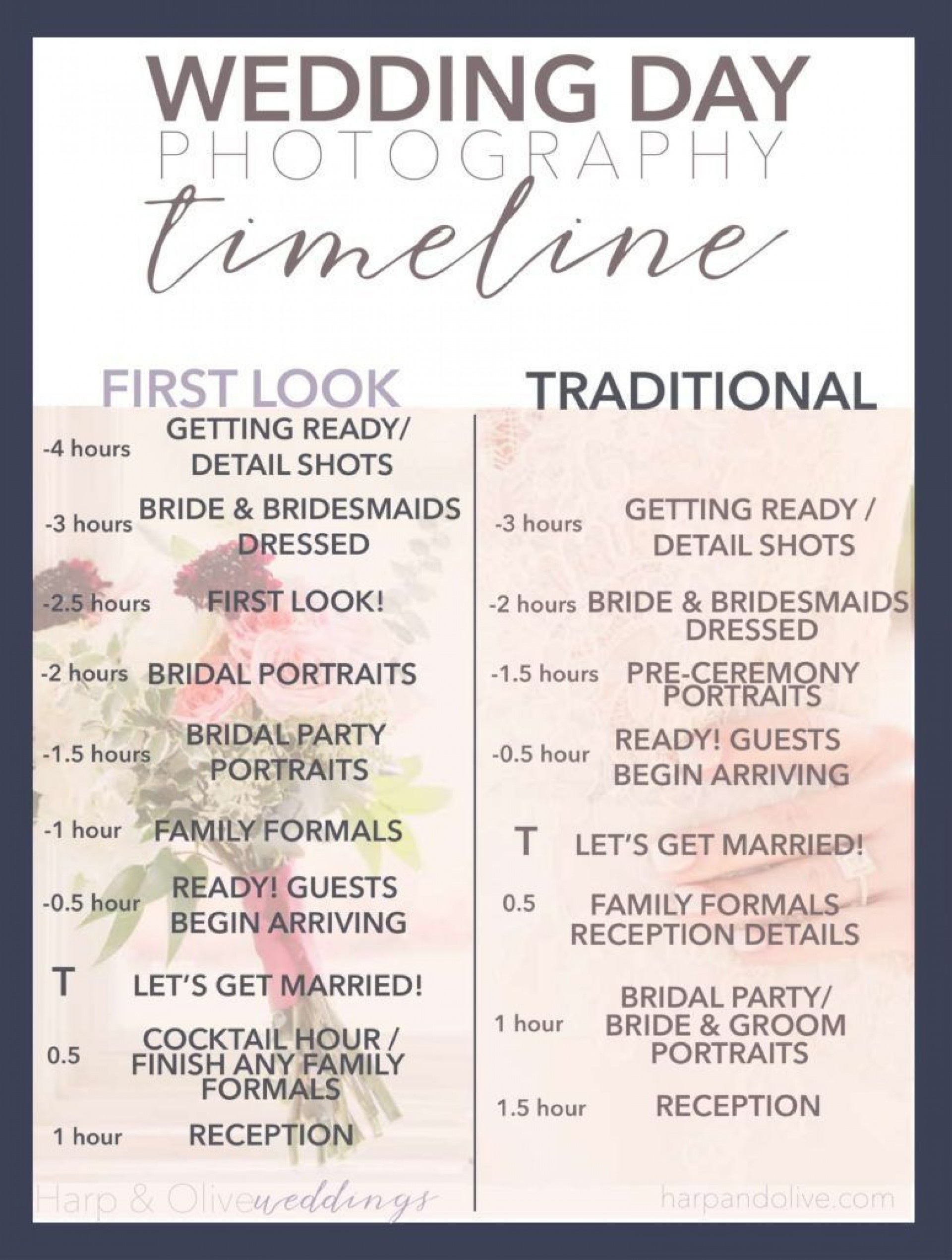 004 Impressive Wedding Timeline For Guest Template Free Example  Download1920