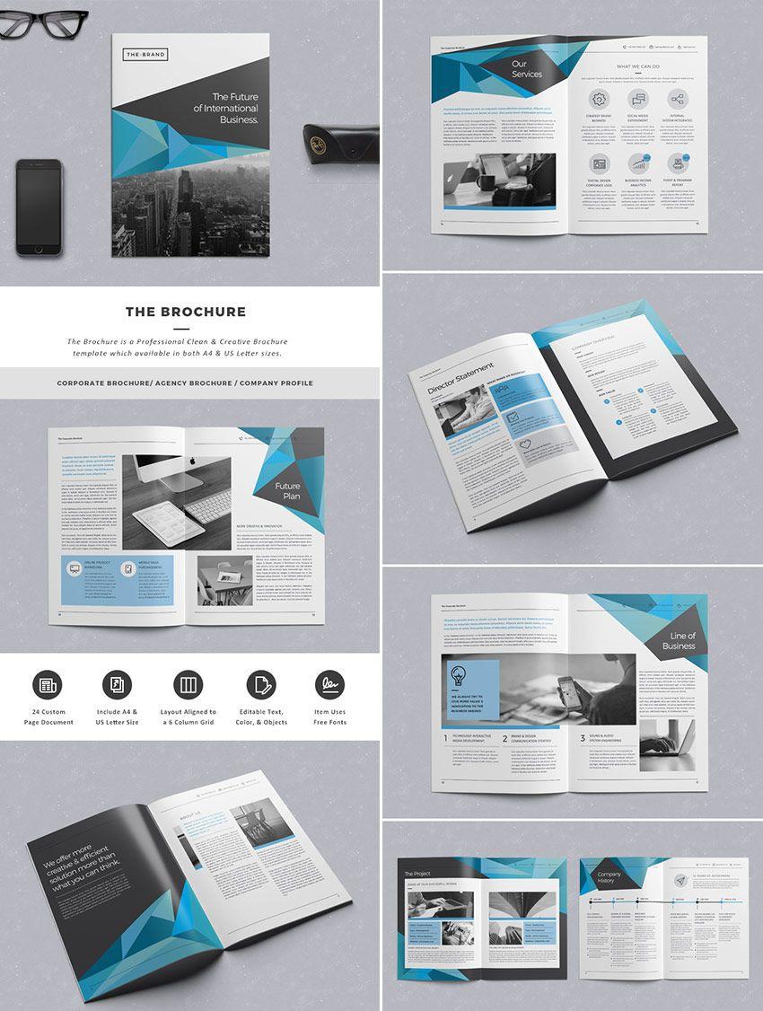 004 Incredible Adobe Indesign Brochure Template Free Download Image Full
