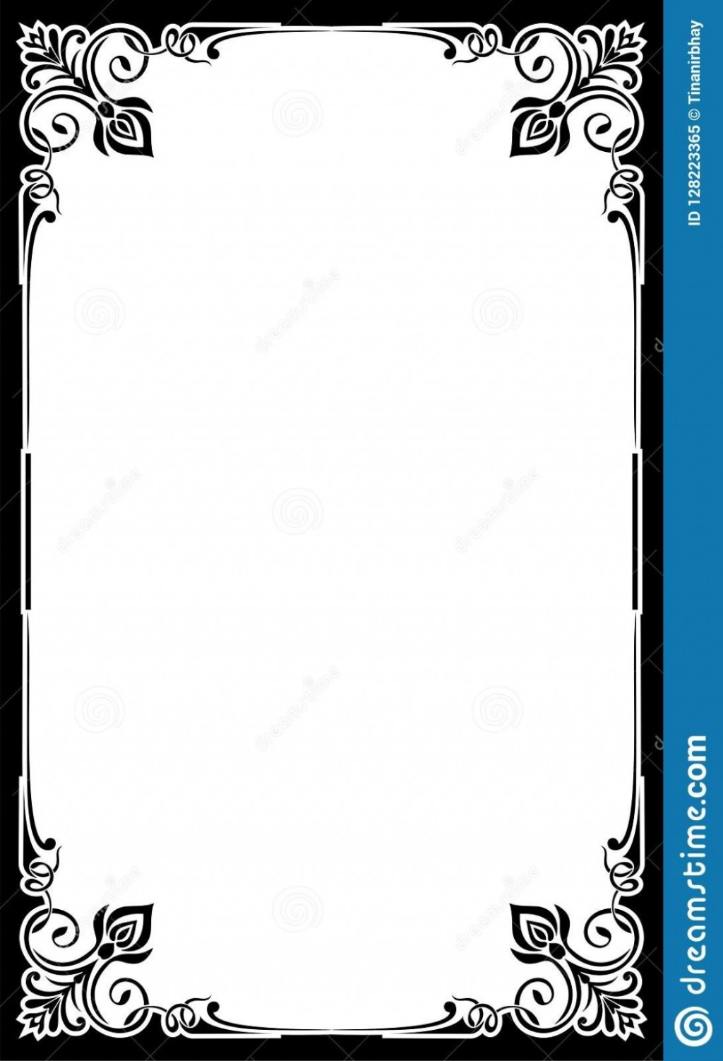 004 Incredible Blank Restaurant Menu Template Picture  Free Printable DownloadableLarge