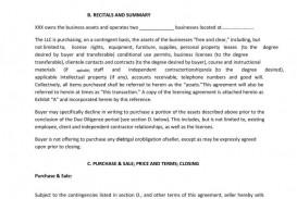 004 Incredible Buy Sell Agreement Llc Sample Image