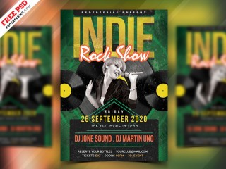 004 Incredible Free Rock Concert Poster Template Psd Inspiration 320