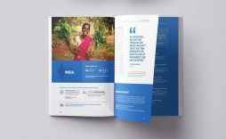 004 Incredible Non Profit Annual Report Template Image  Nonprofit Indesign Example