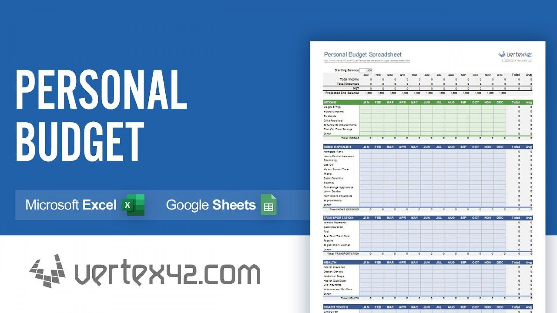 004 Incredible Personal Spending Excel Template High Resolution  Best Budget Planner Free Finance1920