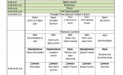 004 Incredible Preschool Lesson Plan Template Sample  Editable With Objective Pre-k Printable
