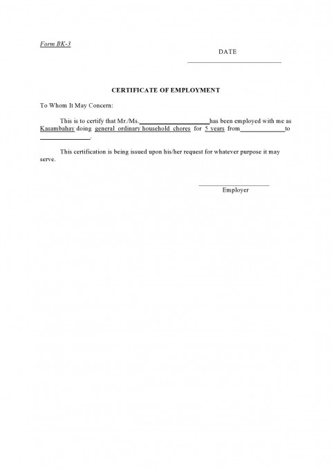 004 Incredible Proof Of Employment Letter Template Canada High Definition  Confirmation480