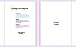 004 Incredible Quarter Fold Card Template Word Blank Highest Clarity