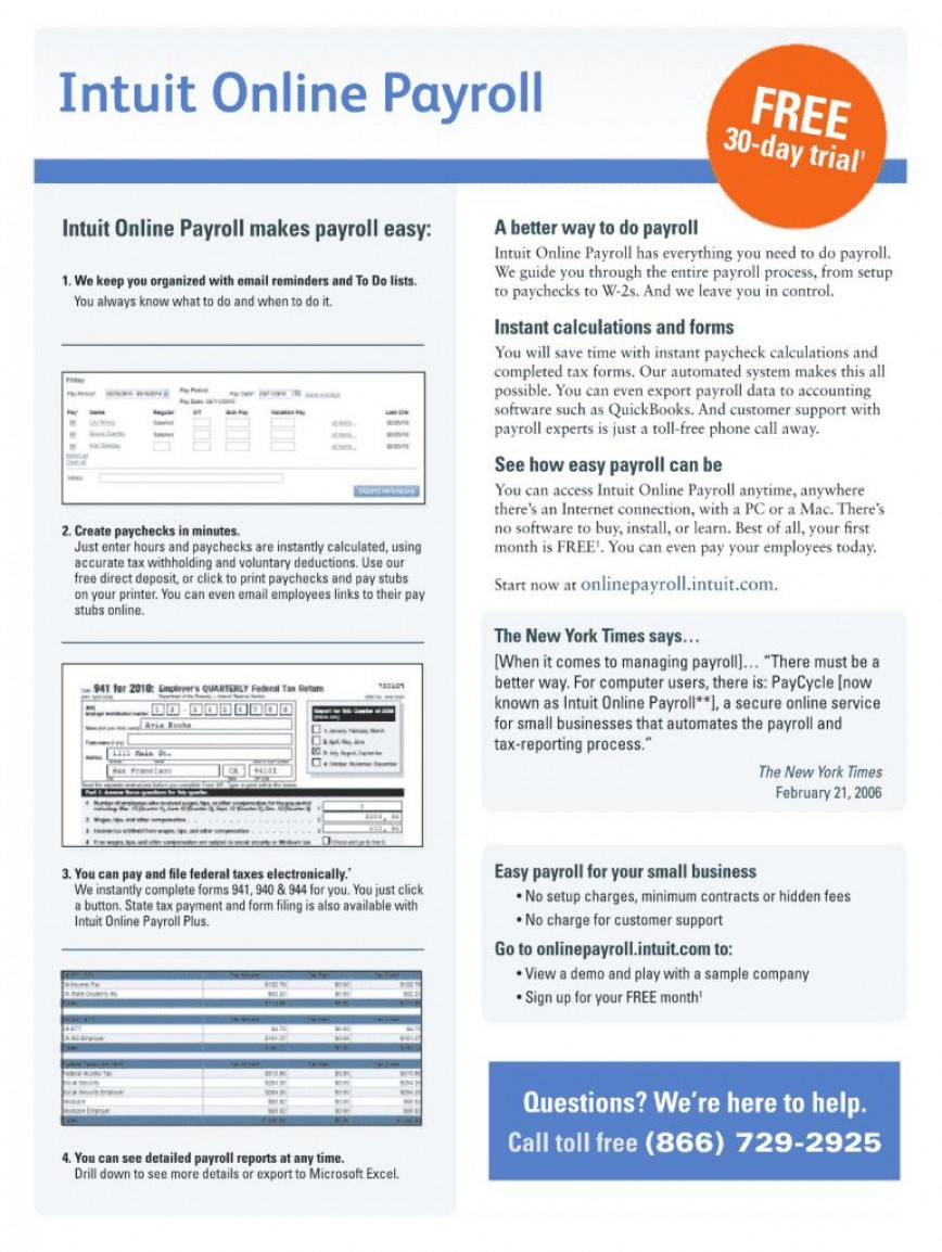 004 Incredible Quickbook Pay Stub Template Highest Quality  Fillable Format