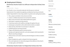 004 Incredible Resume Example For Teaching Job High Def  Sample Position In College Format