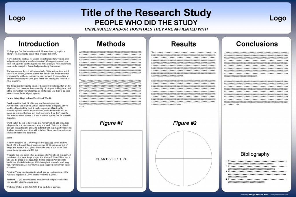 004 Incredible Scientific Poster Presentation Template Free Download High Definition Large