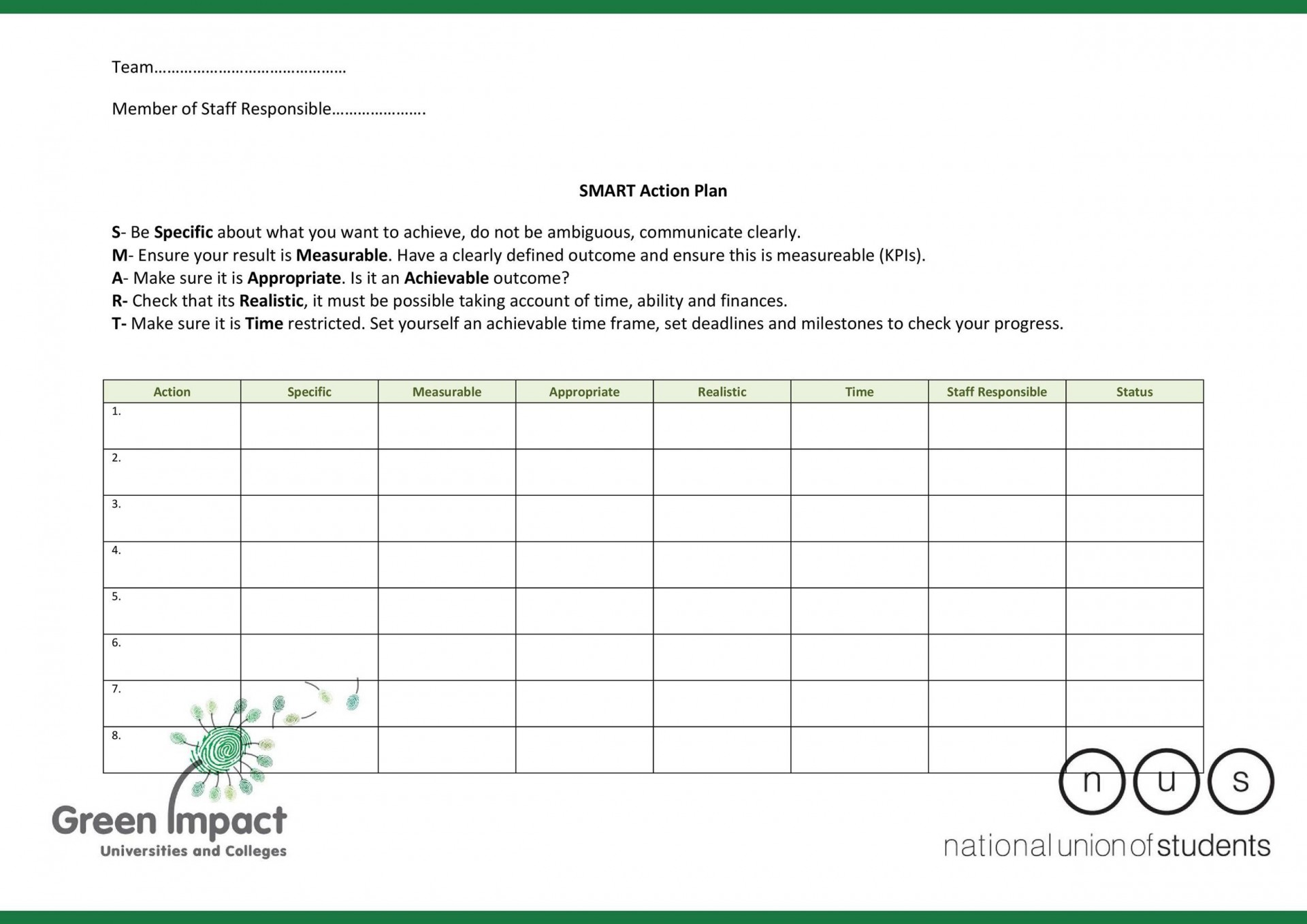 004 Incredible Smart Action Plan Template Image  Download Nh Example Free1920