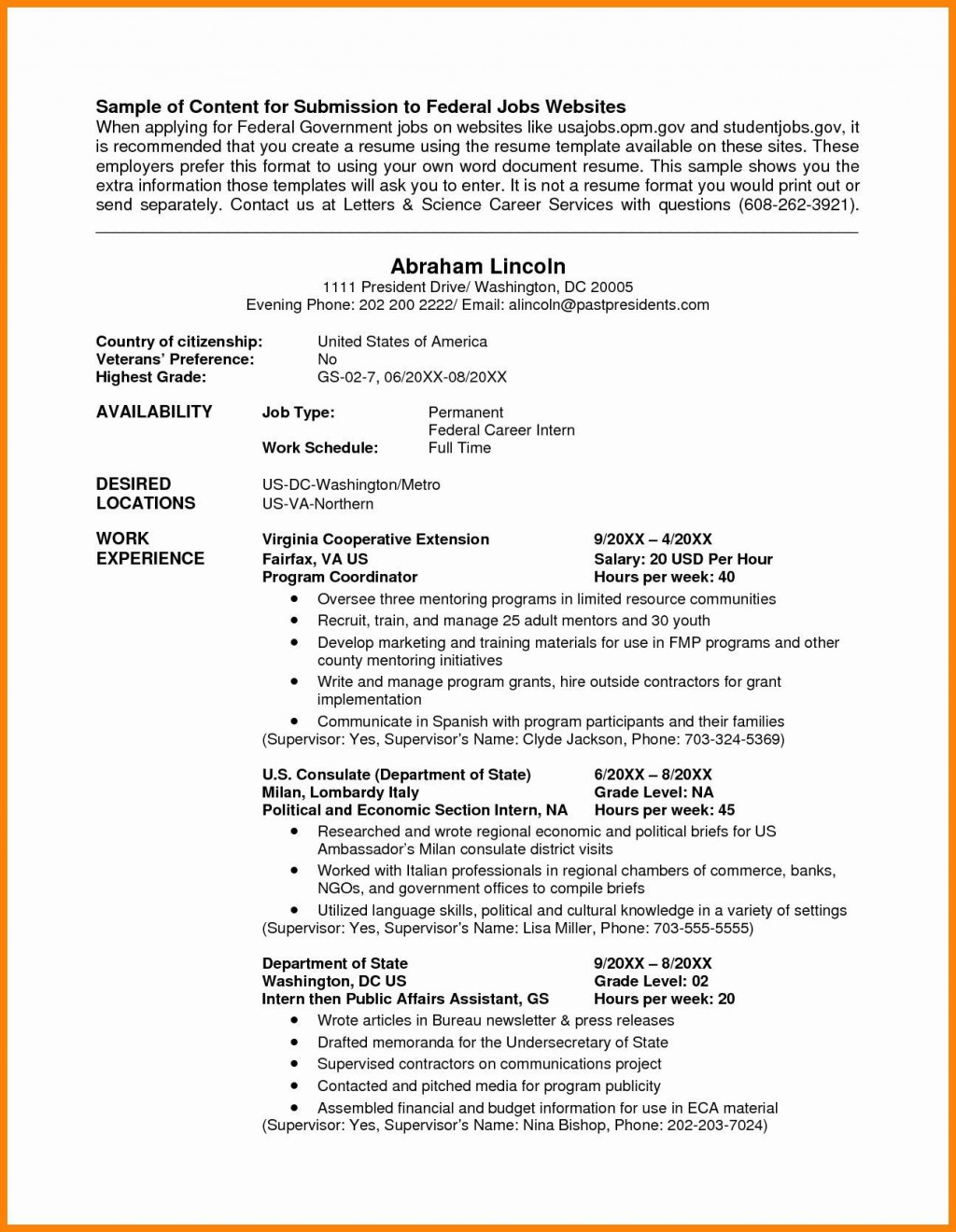 004 Incredible Usa Job Resume Template High Def  Builder Usajob FederalLarge