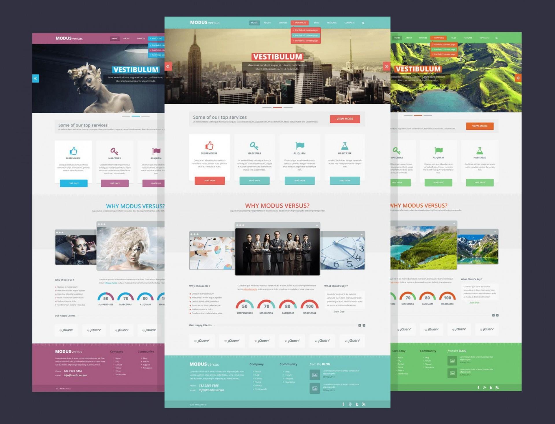 004 Incredible Website Design Template Free Image  Asp.net Web Download Psd1920
