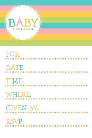 004 Magnificent Baby Shower Invitation Template Microsoft Word Photo  Free Editable320