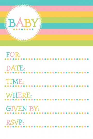 004 Magnificent Baby Shower Invitation Template Microsoft Word Photo  Free Editable360