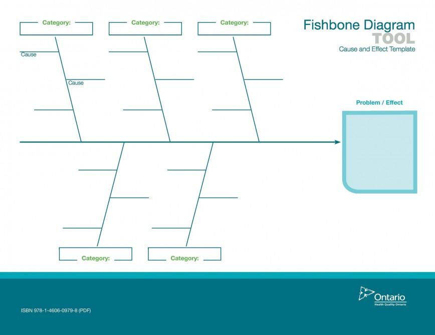004 Magnificent Blank Fishbone Diagram Template Idea  Downloadable Pdf