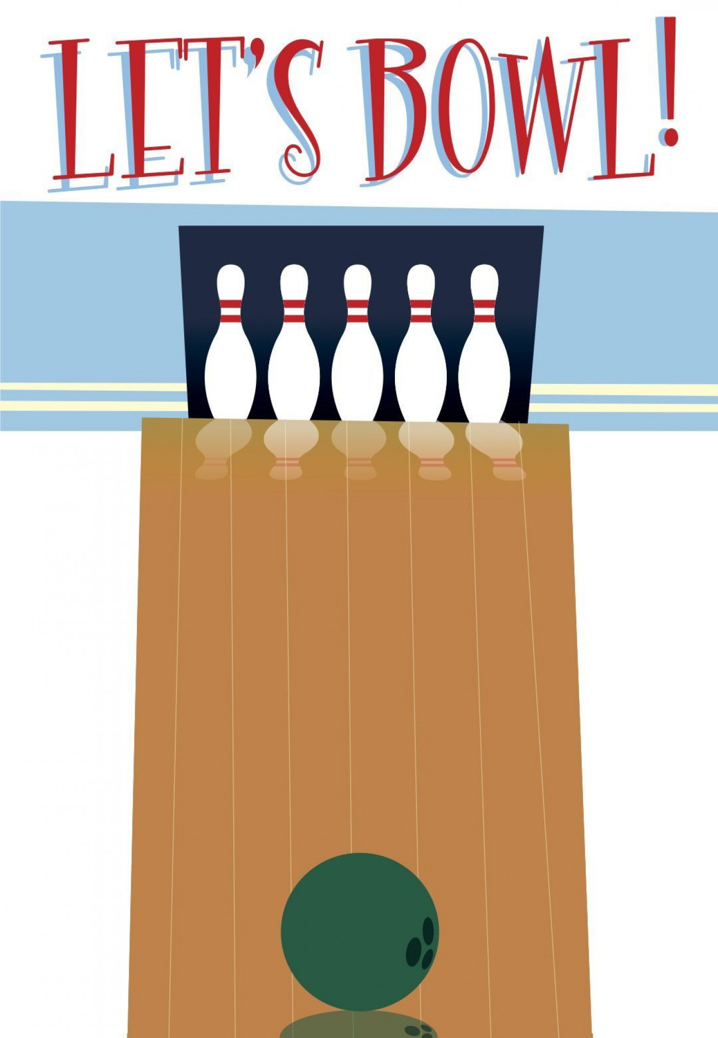 004 Magnificent Bowling Party Invite Printable Free Highest Quality  Birthday Invitation1400