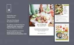 004 Magnificent Create Your Own Cookbook Free Template Design  Templates