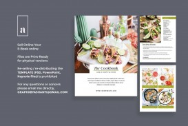 004 Magnificent Create Your Own Cookbook Free Template Design
