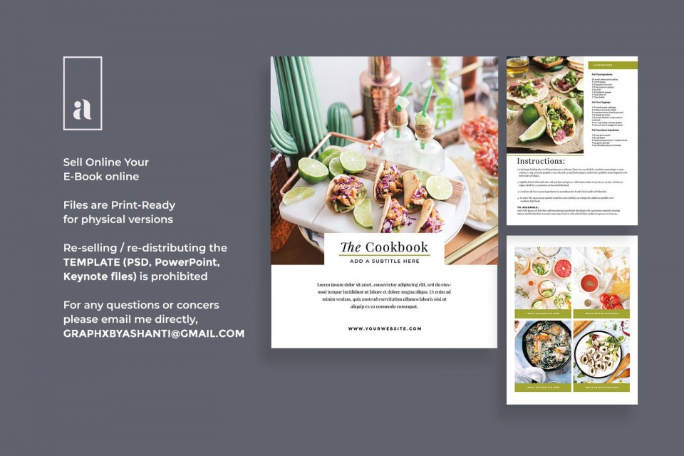 004 Magnificent Create Your Own Cookbook Free Template Design 960