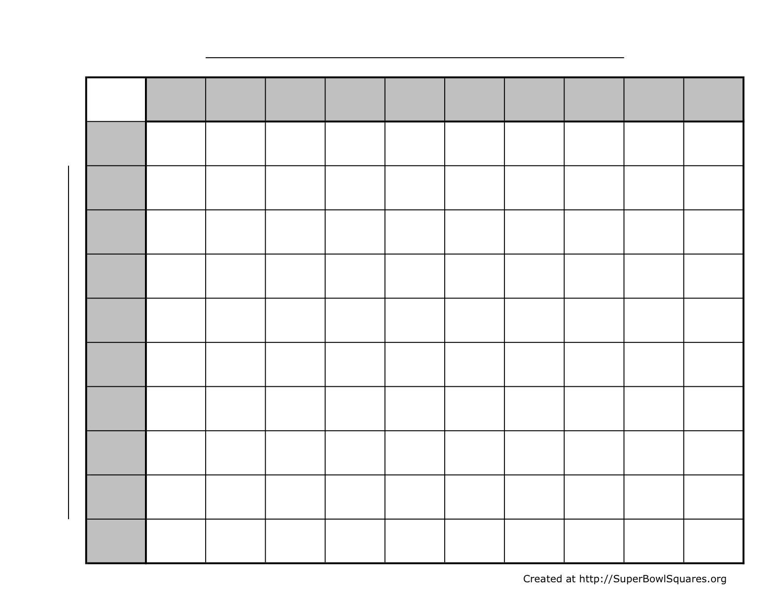 004 Magnificent Football Square Template Excel Sample  Printable PoolFull