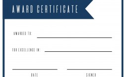 004 Magnificent Free Printable Certificate Template Design  Templates Blank Downloadable Participation