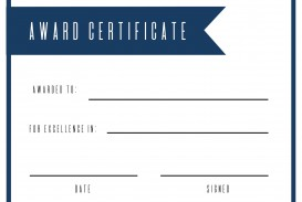 004 Magnificent Free Printable Certificate Template Design  Blank Gift For Word Pdf