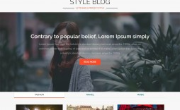 004 Magnificent Free Responsive Blogger Template With Slider Photo
