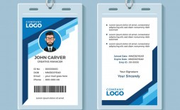 004 Magnificent Id Card Template Free Image  Download Pdf Design