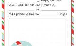 004 Magnificent Letter From Santa Template High Resolution  Free Printable Word Doc Uk