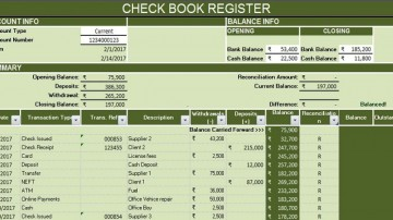 004 Magnificent Microsoft Excel Checkbook Template Design  Register 2010360