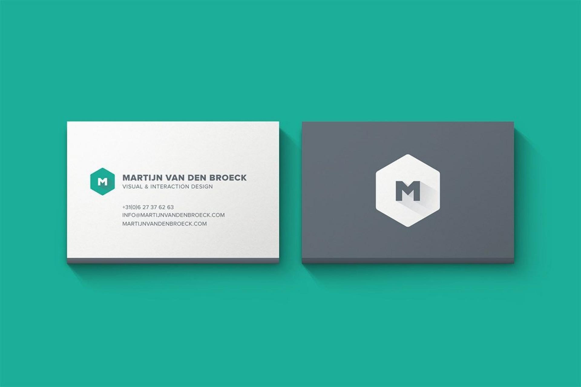 004 Magnificent Minimal Busines Card Template Free Download Design  Simple Coreldraw1920