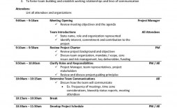 004 Magnificent Project Kickoff Meeting Template Image  Management Agenda Construction Doc Email