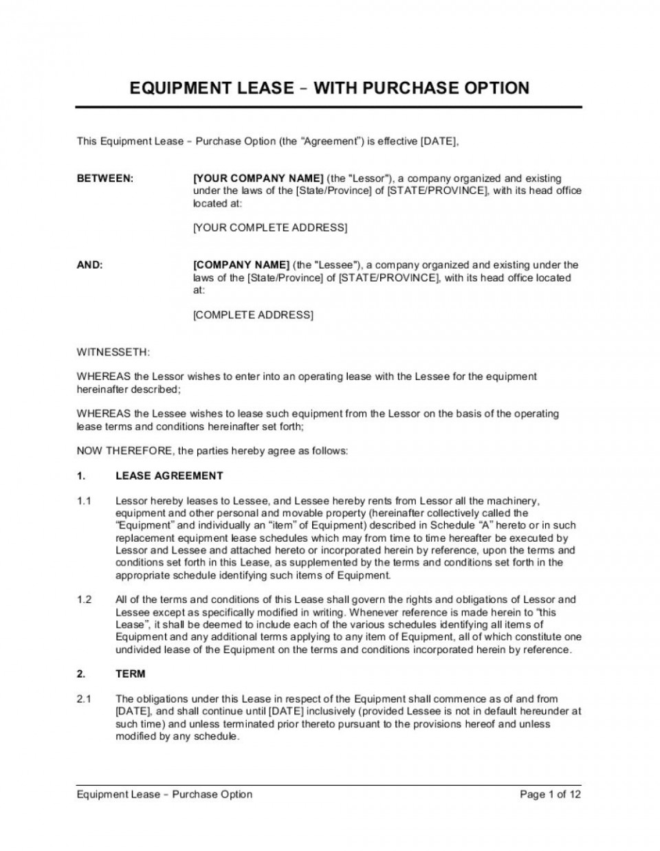 004 Magnificent Rent To Own Agreement Template High Resolution  Contract Florida South Africa960